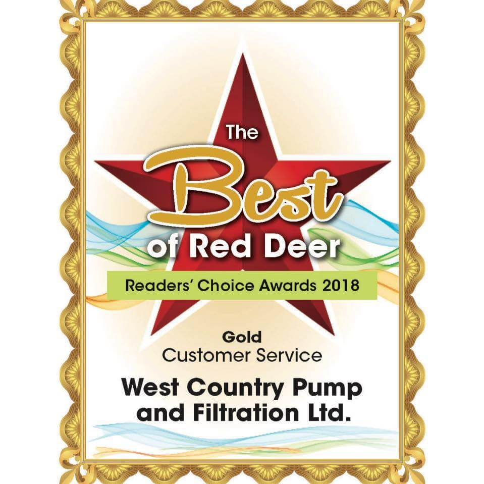 The Best of Red Deer Awards West Country Pump and Filtration Ltd.