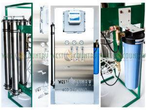West Country Pump and Filtration Ltd. Reverse Osmosis System