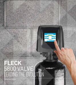Fleck 5800 Water Treatment Valve Alberta Canada
